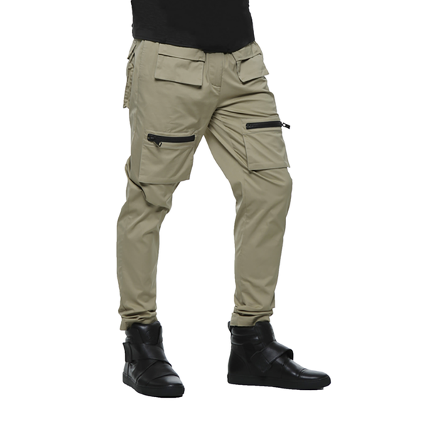 SAFARI COTTON TROUSERS / SAND | Bottoms | HIP AND BONE