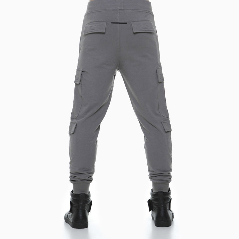 SHANGHAI CARGO JOGGERS CHARCOAL (COMFORT EDITION) - HIP AND BONE