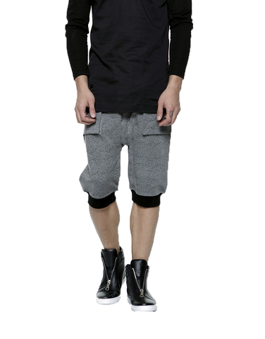 SHADOW SHORTS - CHARCOAL