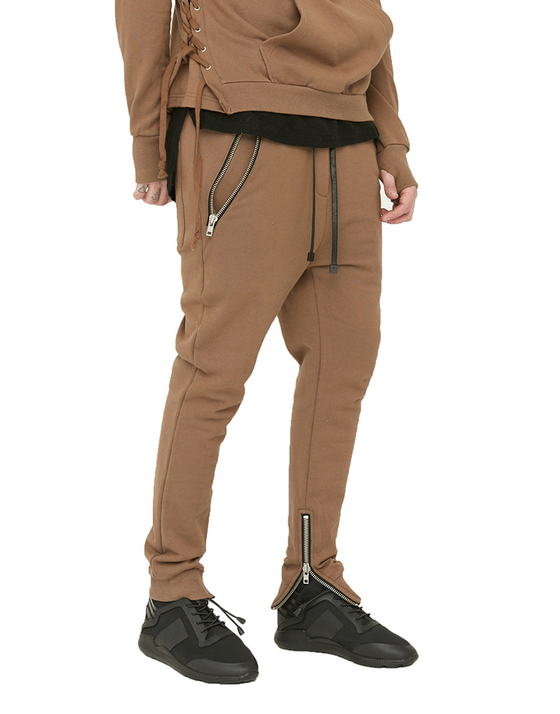 SHADOW JOGGERS / OLIVE GREEN - HIP AND BONE