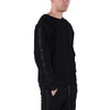 PARACHUTE CREW SWEATSHIRT / BLACK - HIP AND BONE