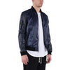 PERFORATED LEATHER BOMBER