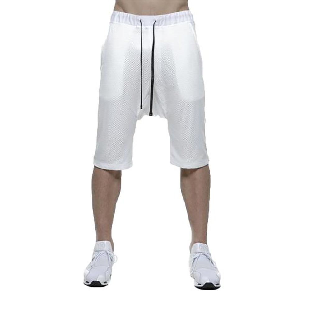 MESH LAYERED SHORT / WHITE - HIP AND BONE