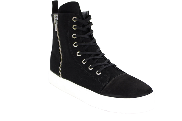 VISION CANVAS BOOT - BLACK