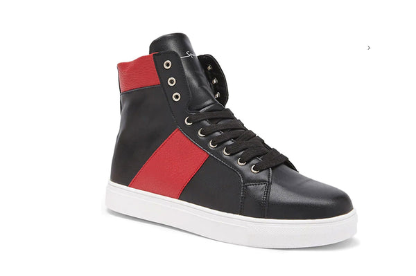 SPEECHLESS RED BLACK HIGH TOP