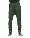 PARACHUTE CANVAS TROUSERS / OLIVE GREEN