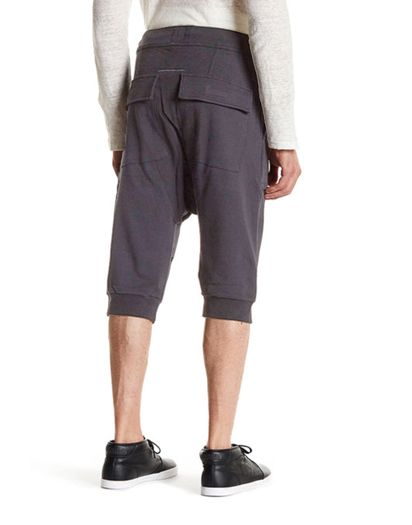 SHADOW SHORTS - CHARCOAL - HIP AND BONE