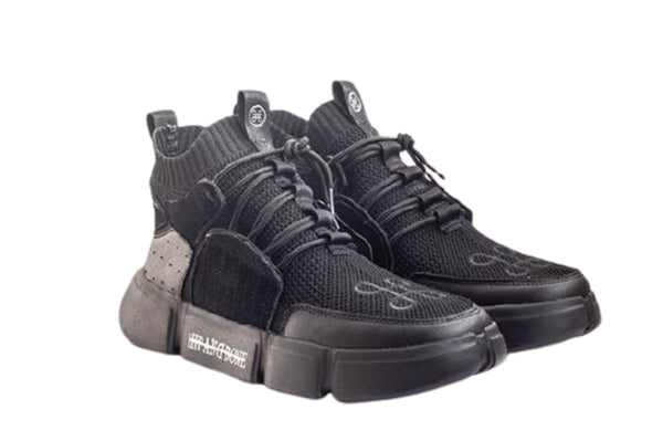 BLOCK SHOE TRIPLE BLACK