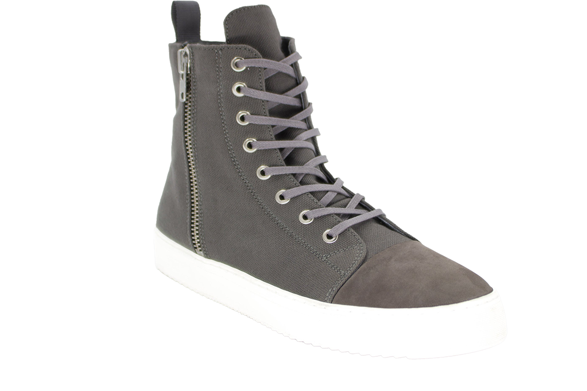VISION CANVAS BOOT - GREY