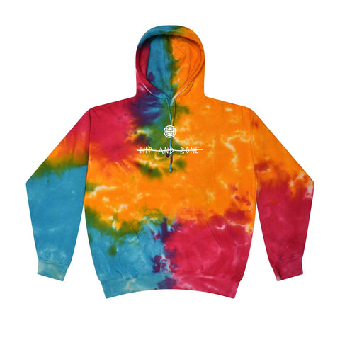 OMG Ronny X Hip and Bone pink swirl hoodie