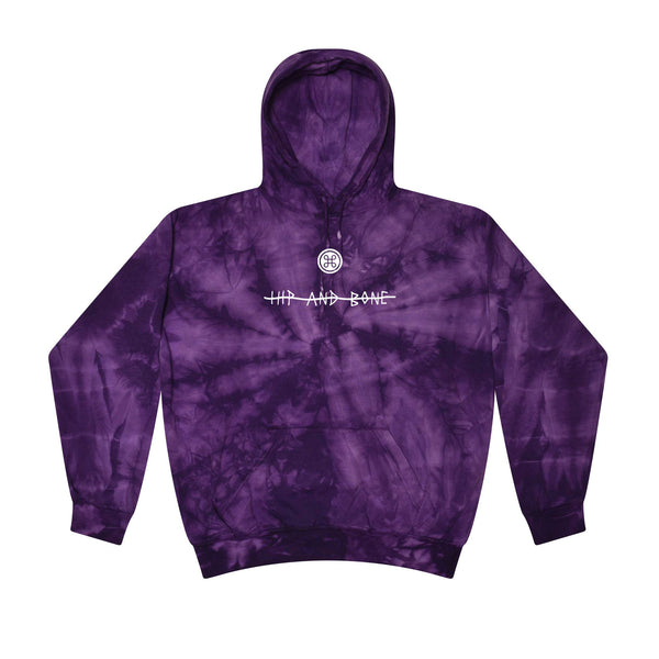 SPIDER TIE DYE HOODIE PURPLE | Tops | HIP AND BONE