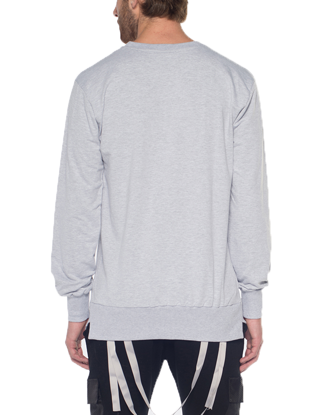 PARACHUTE JUMPER SWEATSHIRT / GREY