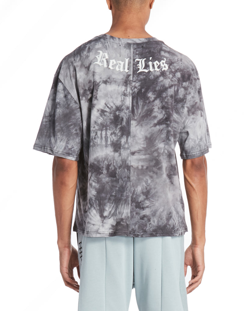 REALIZE TEE / ACID WASH BLUE