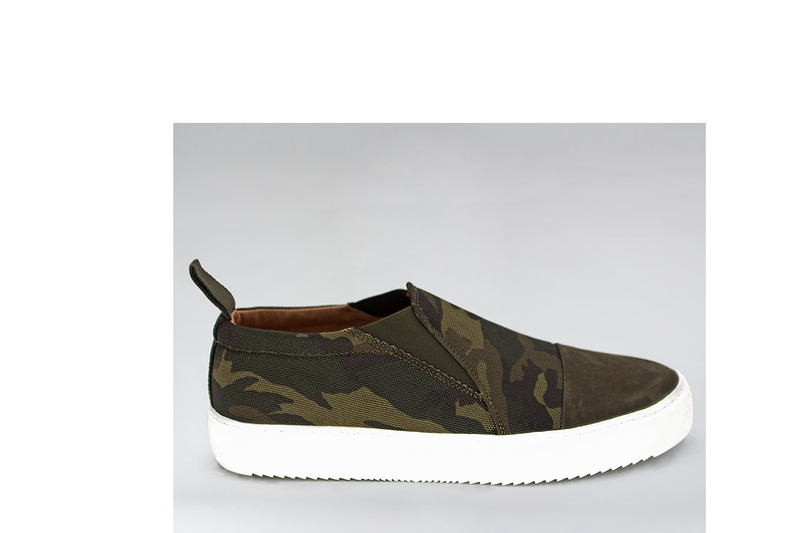 VISION CANVAS SUEDE SLIDER - CAMO