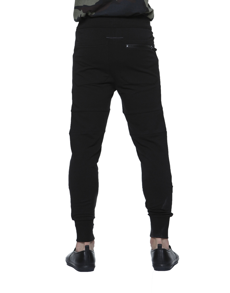 BIKER JOGGER / BLACK | Bottoms | HIP AND BONE