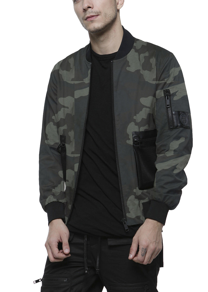 SAFARI BOMBER JACKET / CAMO - HIP AND BONE
