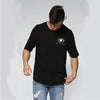 BONE CAGE TEE BLACK - HIP AND BONE