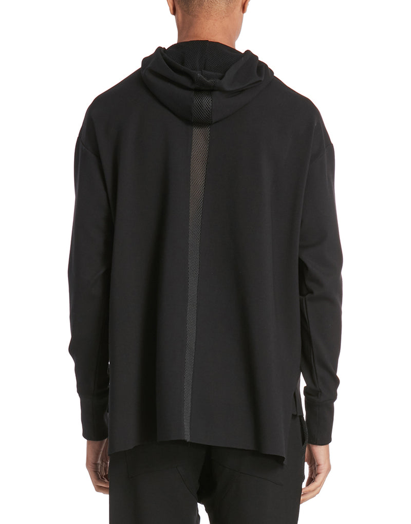 CORE CHAIN HOODIE / BLACK - HIP AND BONE