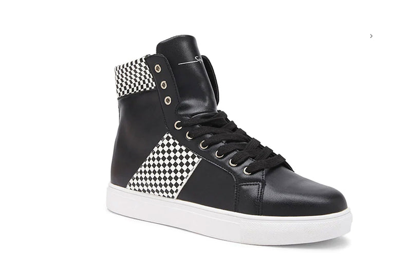 SPEECHLESS CHECKERED HIGH TOP