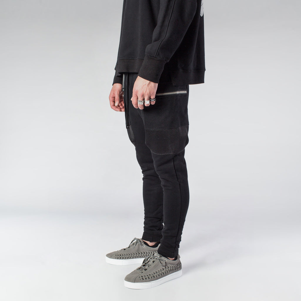 PARACHUTE CARGO JOGGER - BLACK - HIP AND BONE