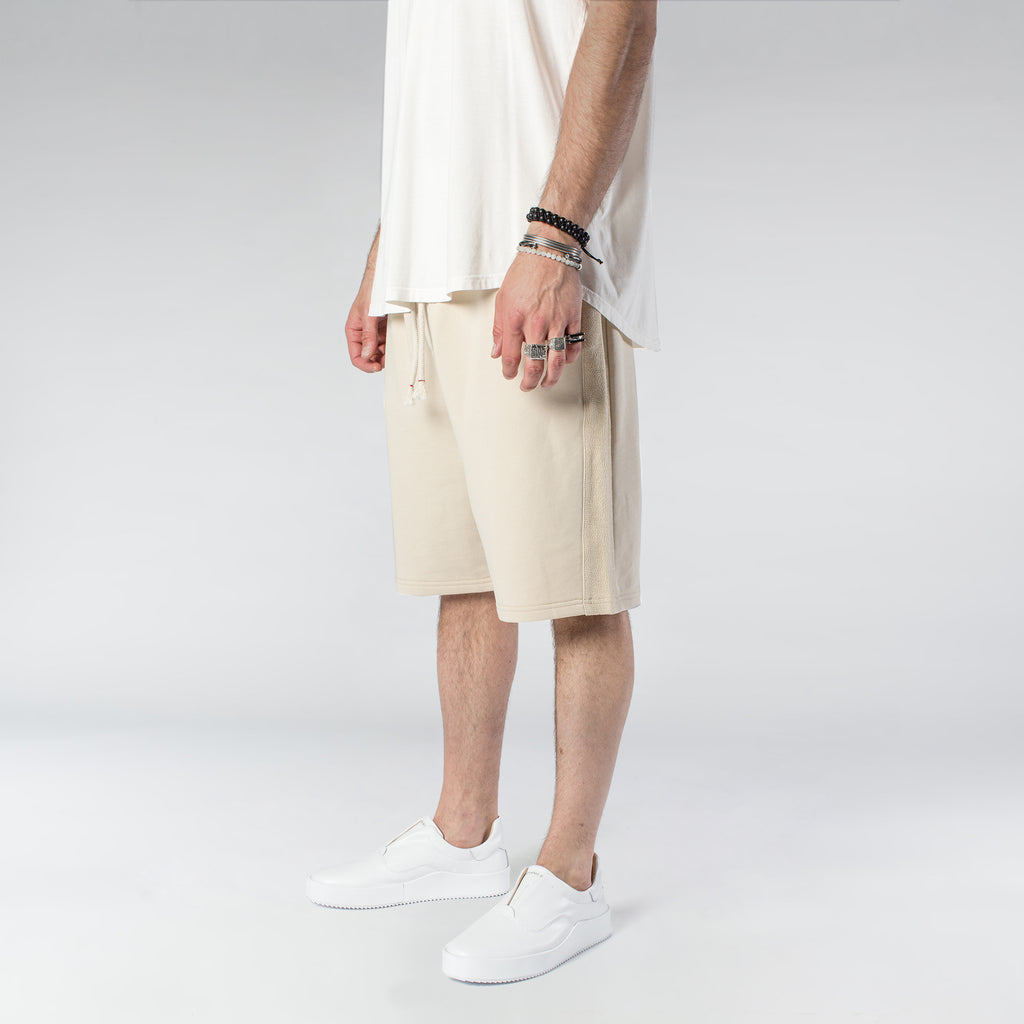 TERRY PASTEL SHORTS / CREAM
