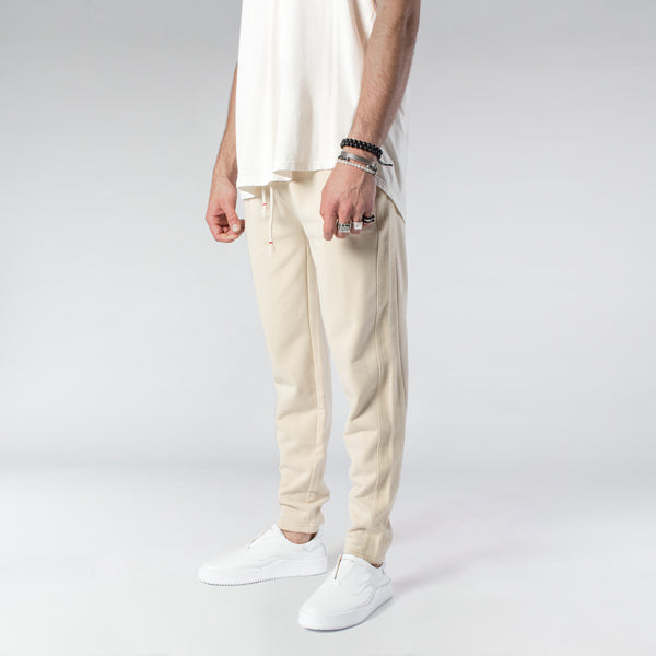 TERRY PASTEL JOGGERS / CREAM | Bottoms | HIP AND BONE
