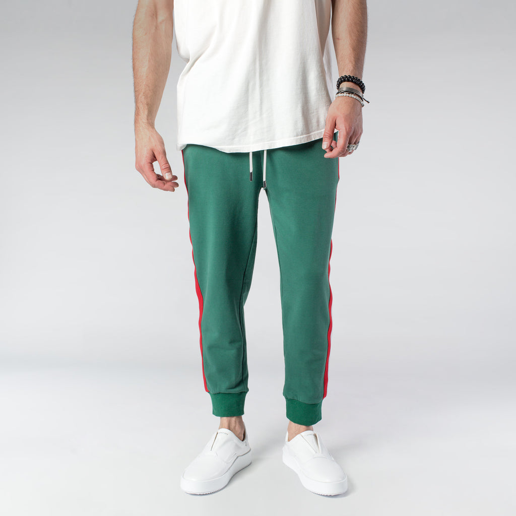 CYCLE TROUSERS / GREEN