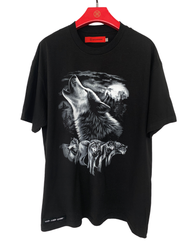 TWISTED MOUSE TEE WHITE