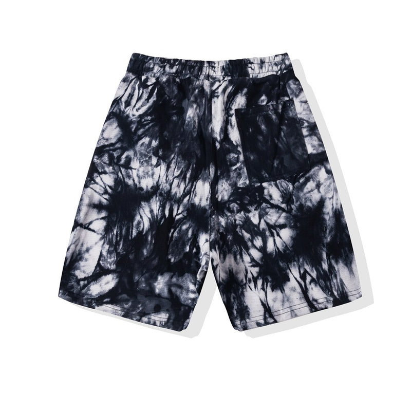 SOFTEST TIE DYE SHORTS EVER ELECTRIC BLACK | Bottoms | HIP AND BONE