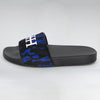 HB BLUE CAMO PONY SLIDES