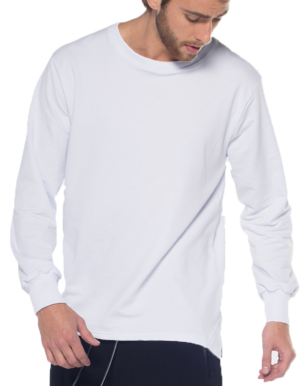PARACHUTE JUMPER SWEATSHIRT / WHITE