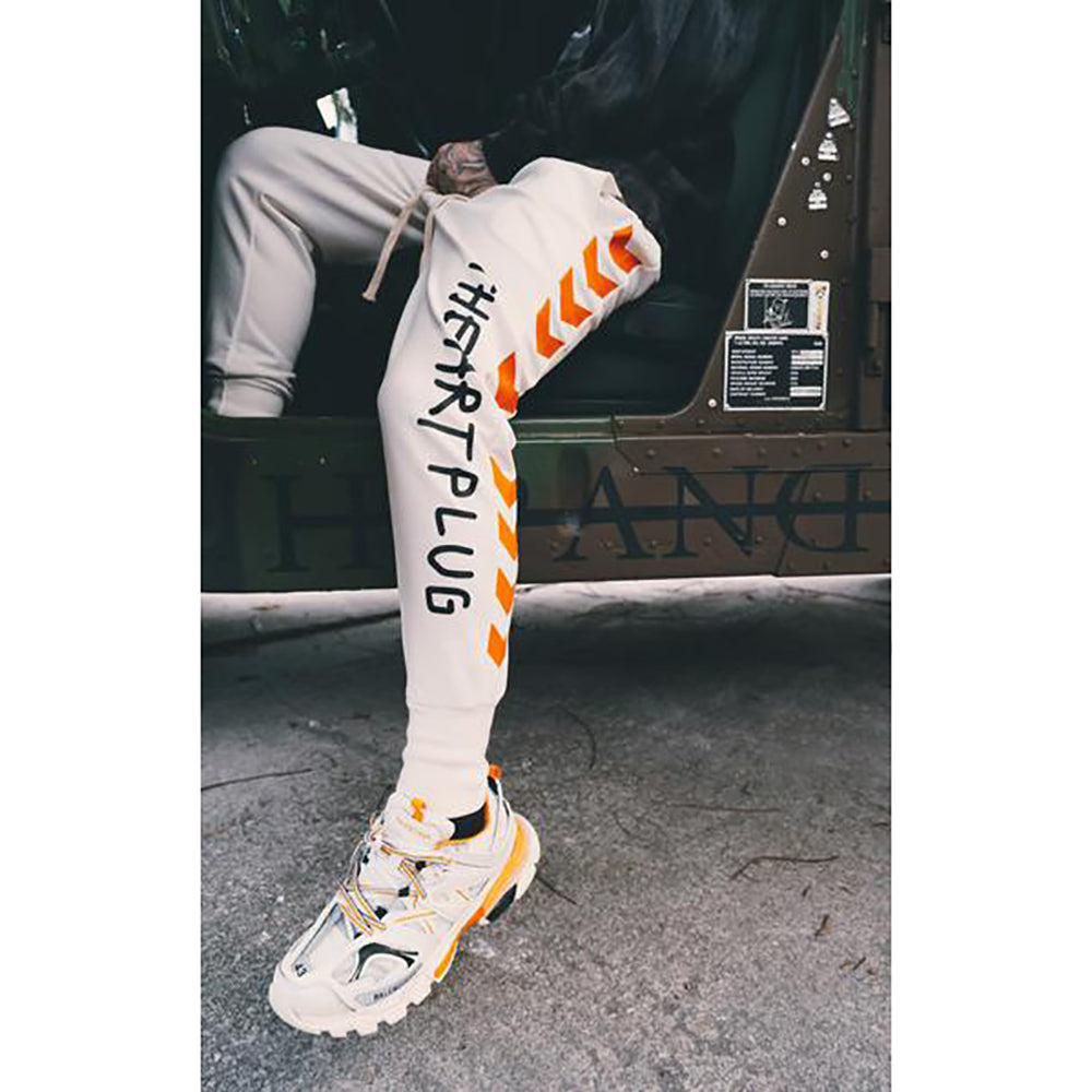 ART PLUG STATIC JOGGERS WHITE