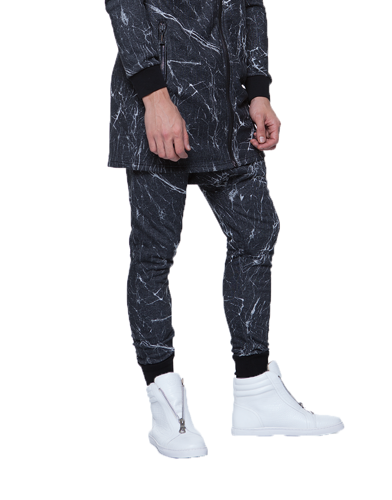 MARBLE SHADOW JOGGERS | Bottoms | HIP AND BONE