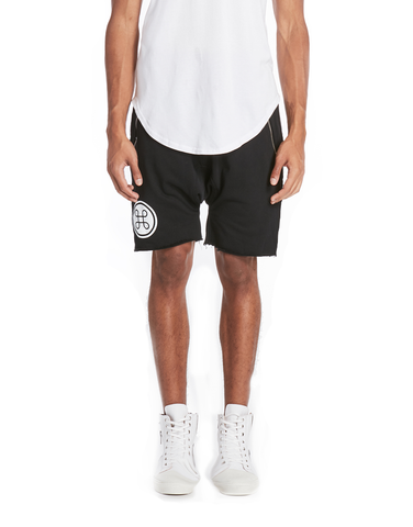 MESH LAYERED SHORT / WHITE