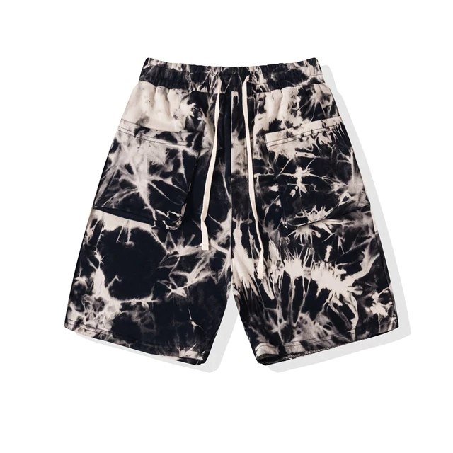 SOFTEST TIE DYE SHORTS EVER BLACK COPPER - HIP AND BONE