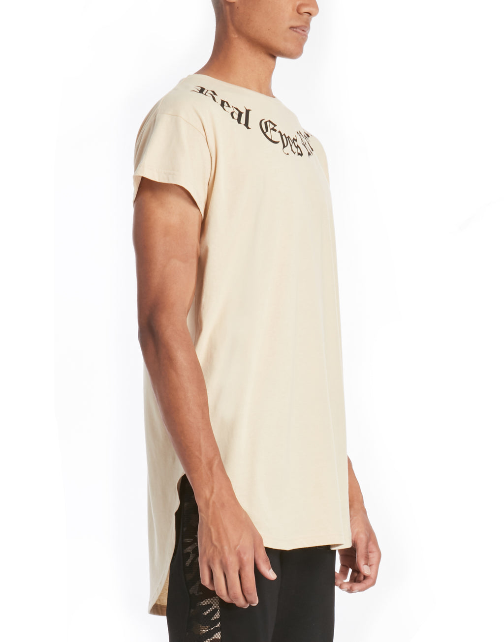 REALIZE SHADOW TEE / SAND - HIP AND BONE