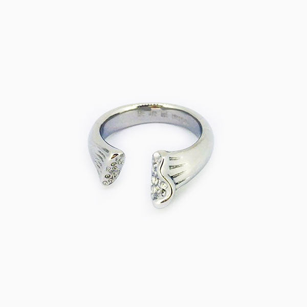 BONE RING - SILVER - HIP AND BONE