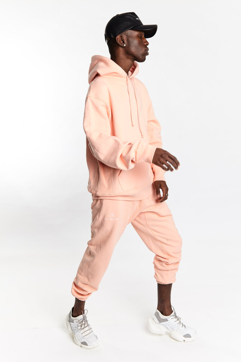 SOFTEST HOODIE EVER ESSENTIALS SALMON - HIP AND BONE