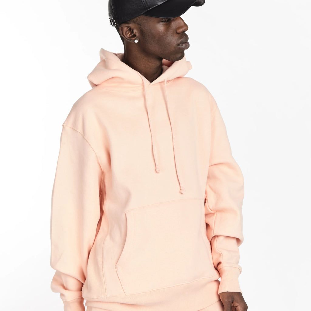 SOFTEST HOODIE EVER ESSENTIALS SALMON