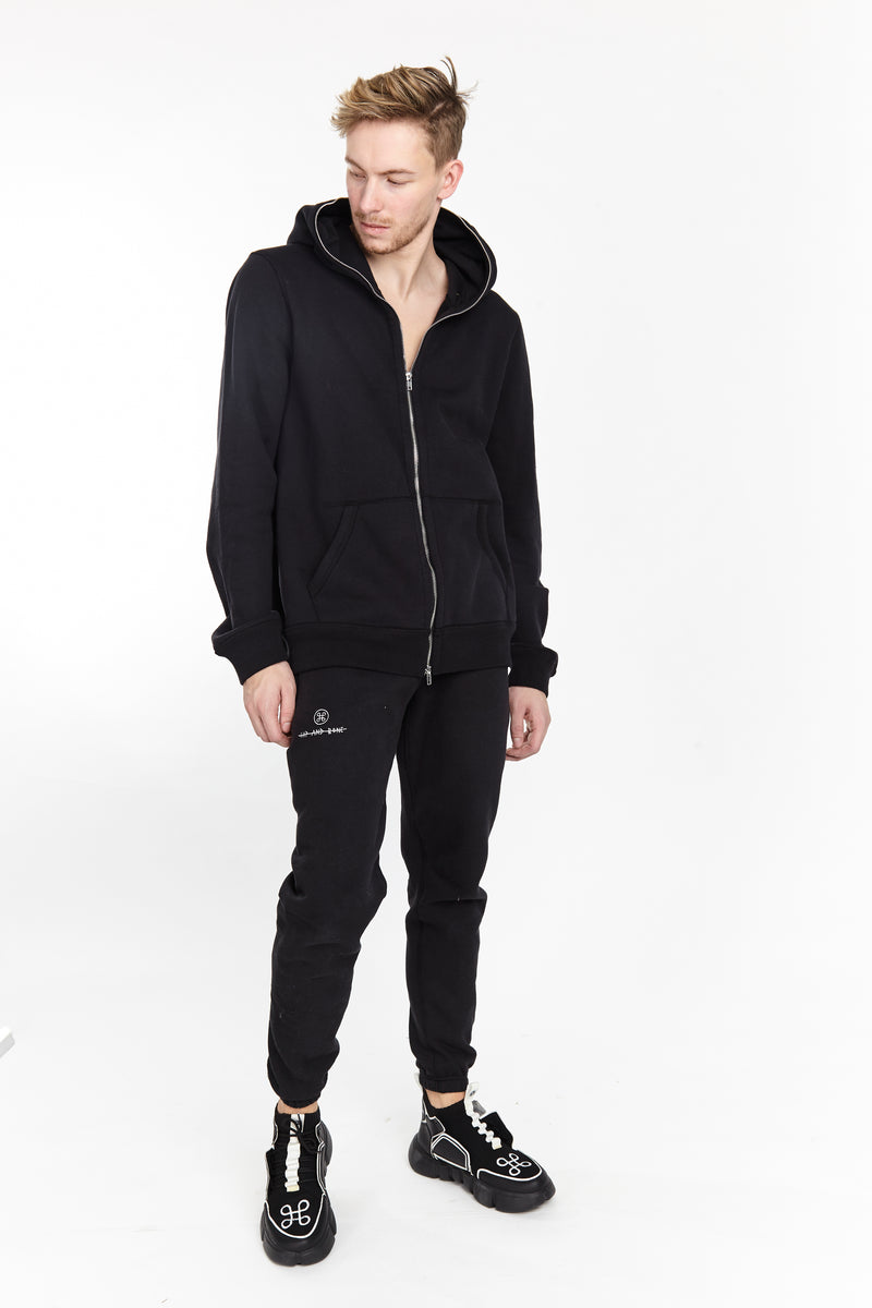 RIBCAGE FULL BODY ZIP UP HOODIE - HIP AND BONE