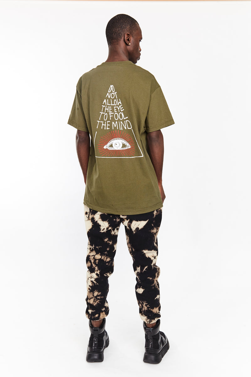 MIND TEE ARMY | Tops | HIP AND BONE