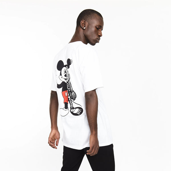 TWISTED MOUSE TEE WHITE | Tops | HIP AND BONE