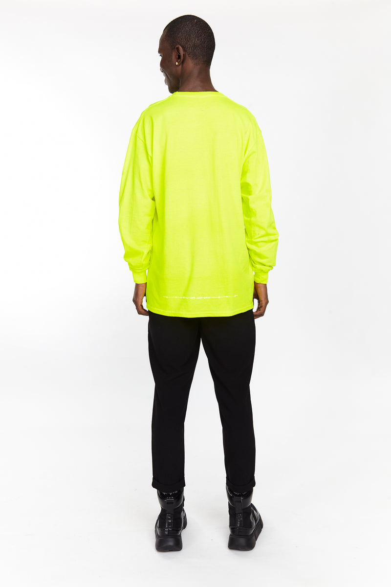THE CRAZY NEVER DIE LONG SLEEVE NEON - HIP AND BONE