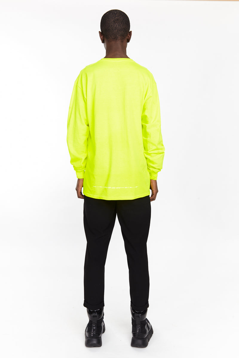 THE CRAZY NEVER DIE LONG SLEEVE NEON | Tops | HIP AND BONE
