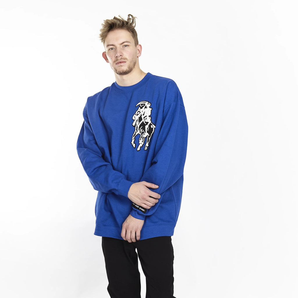 DEAD POLO CREW ROYAL BLUE - HIP AND BONE