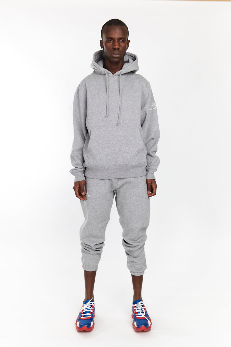 SOFTEST HOODIE EVER ESSENTIALS HEATHER GREY | | HIP AND BONE