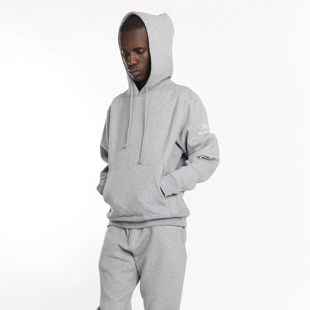 SOFTEST HOODIE EVER ESSENTIALS HEATHER GREY