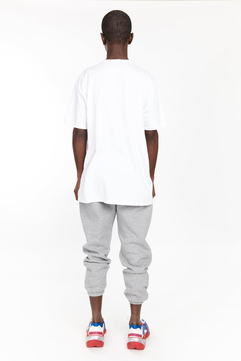 DEAD POLO TEE WHITE - HIP AND BONE
