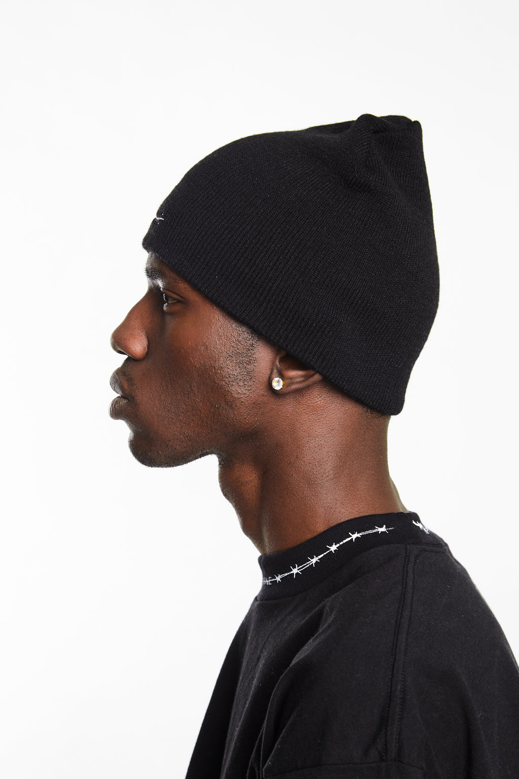 HIP AND BONE BEANIE BLACK - HIP AND BONE