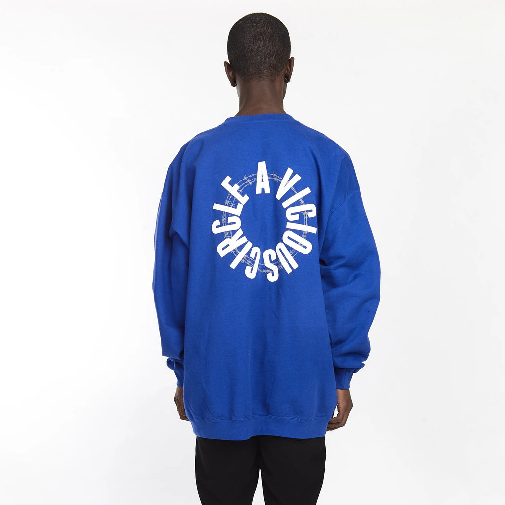 VICIOUS CIRCLE CREW ROYAL BLUE